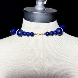 Vintage Jewelry - Vintage Mid-Century Bead Necklace
